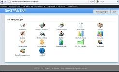 NeXT ERP Nota Fiscal Eletrônica NFe 2.0 XML DANFe Sistema Integrado