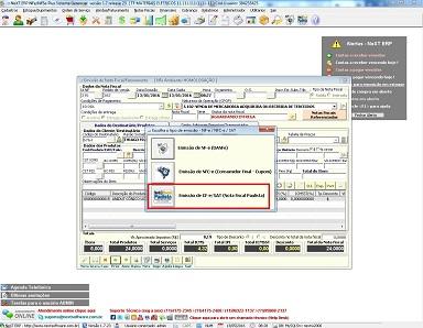 NeXT ERP Emissão de NF-e NFC-e SAT CF-e