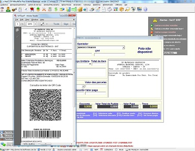NeXT ERP SAT Fiscal PDV NFC-e CF-e
