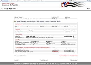 NeXT ERP 156 carta de correção eletrônica cc-e