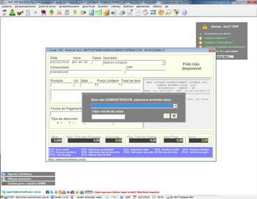 Sistema NFC-e Nota Fiscal Eletrônica ao Consumidor NeXT ERP PDV
