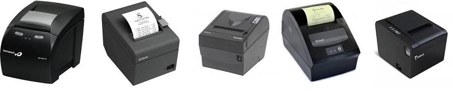 NeXT ERP - Funciona com qualquer impressora térmica não fiscal compatível com Windows